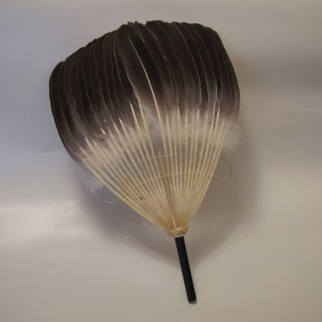 goose feather fan