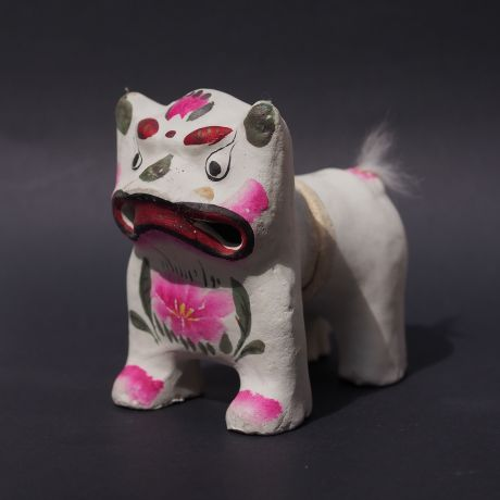 Clay Tiger Toy
