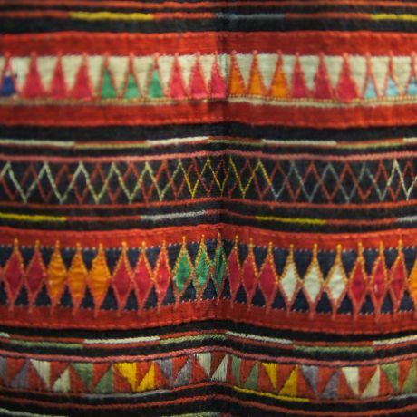 Hmong tribe costume