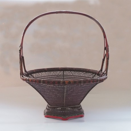 bamboo lacquer basket